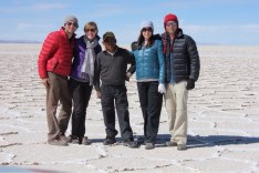 Bolivia Salt Flat Tour Group