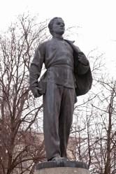 Denkmal für Lenin als Student in Kazan