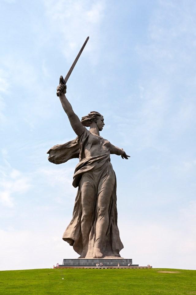"Denkmal ""Mutter Heimat"" in Wolgograd"