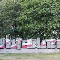 """Gedenkstein auf dem Gelände """"Westerplatte"""""""
