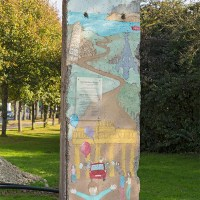 Segment der Berliner Mauer in Northeim