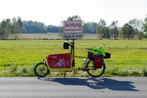 Mit dem Fahrrad entlang des früheren Eisernen Vorhangs unterwegs