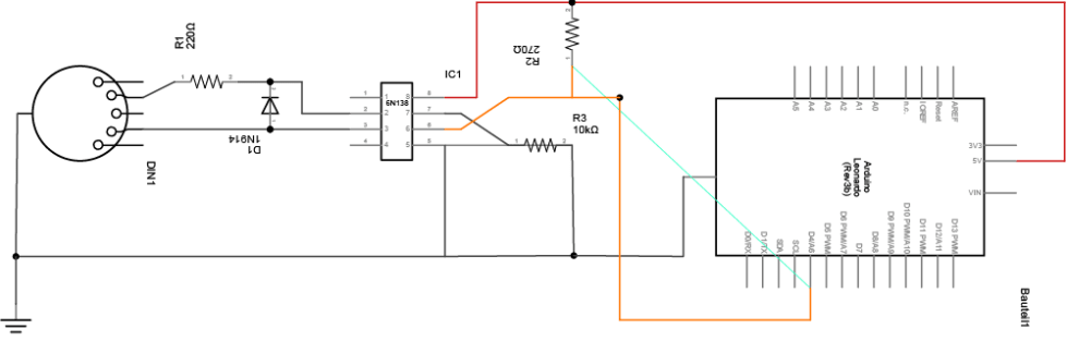 Schaltplan-MIDI-In