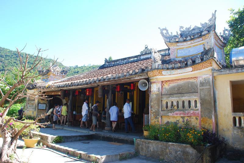 Hai Tang pagoda, Cu Lao Cham island, Hoi An, Vietnam