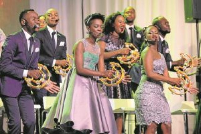 SOUNDS OF JOY: South Africa's popular gospel outfit, Joyous Celebration , will be performing at a gospel event at Buffalo Park Cricket stadium next month Picture: SINO MAJANGAZA-DAILY DISPATCH