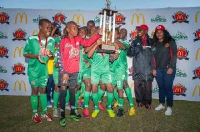 WINNING STREAK: Charles Morgan Combined School continued their success on the soccer field and got the taste for winning when they won the provincial finals of the McDonald's U14 Schools League