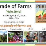 Parade of Farms 'Nalo Style!