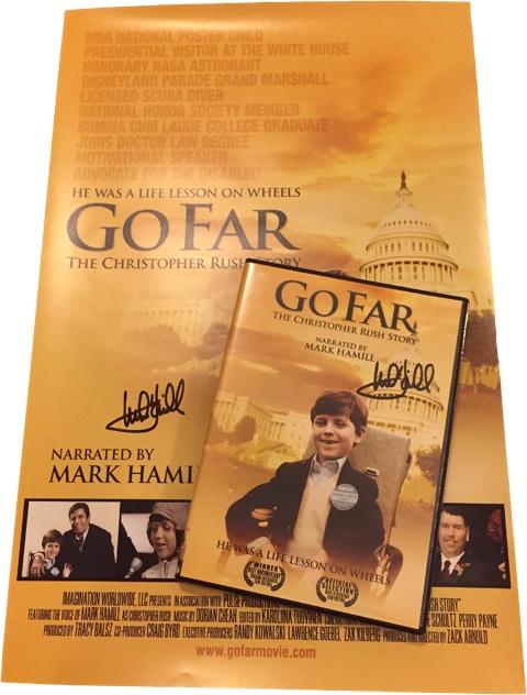 GoFar signed DVD & Poster