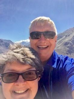 Wayne and Kathy enjoying Peru's Sacred Valley of the Inca's, June 2017