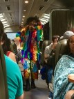 Staff Entertainment on the PeruRail