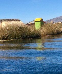 The Floating Islands of the Uros people of Lake Titicaca