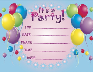 invite everyone in class to birthday party