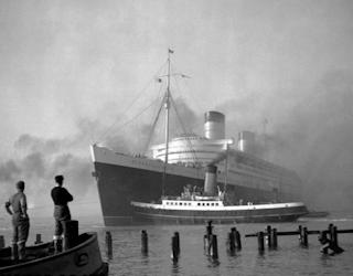 our trans-atlantic crossing rms queen mary england america