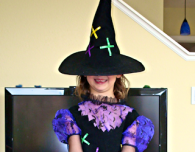 light up witches costume