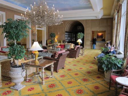 Main Lobby of The Broadmoor Hotel, Colorado Springs