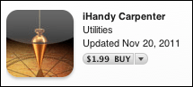 iphone ihandy carpenter