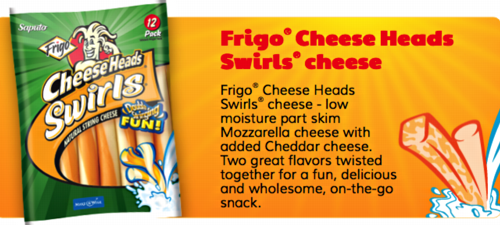 Frigo Cheesehead Swirls