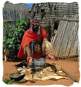 Ghana witch doctor