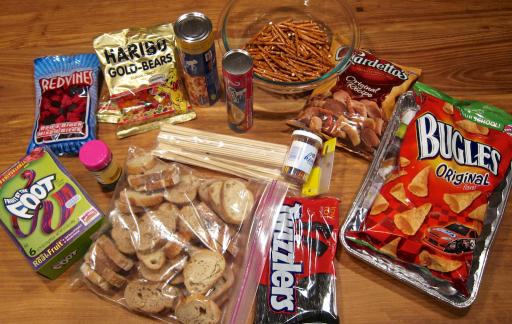 snackadium ingredients