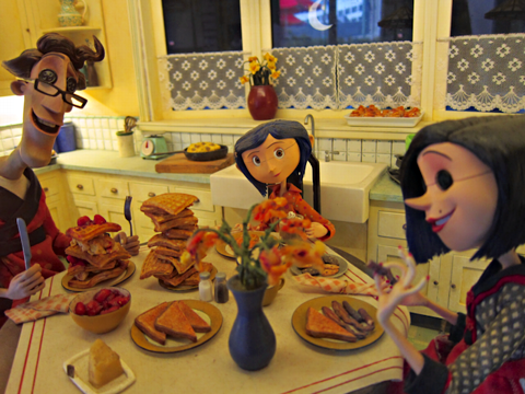 Coraline models and props