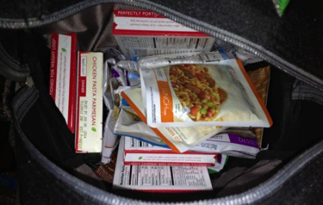 Backpack with Nutrisystem Foods