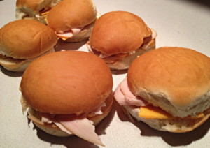 Dad's Turkey Sliders