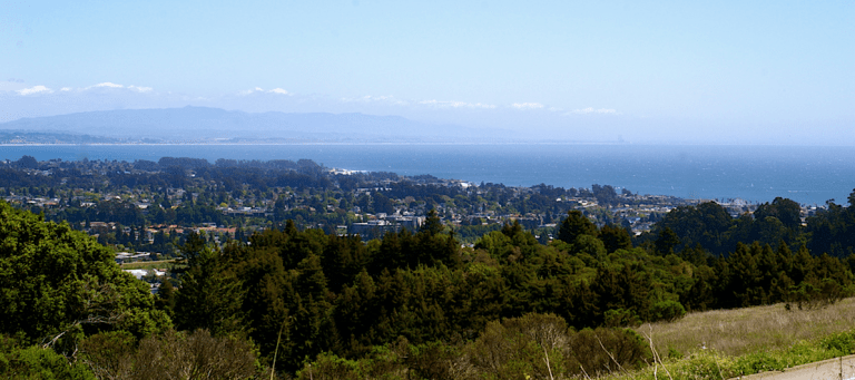 Monterey Bay from UCSC