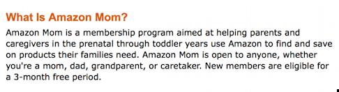 amazon moms membership criteria