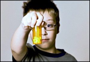 boy with adhd meds