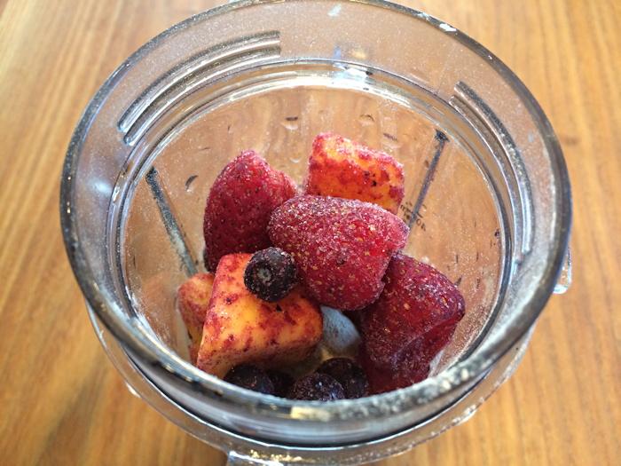 breakfast smoothie shake ingredients - fruit