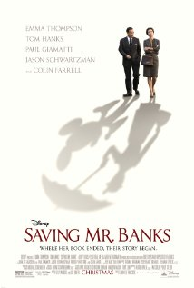 Saving Mr Banks movie poster one sheet