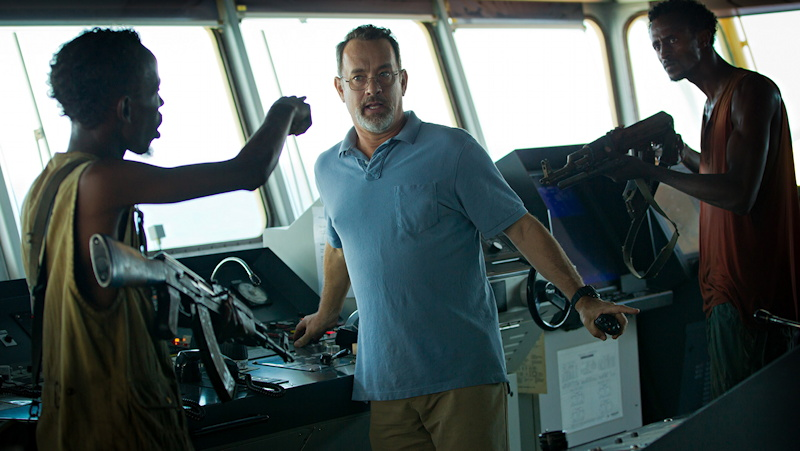 Publicity Still from Captain Phillips, with Tom Hanks
