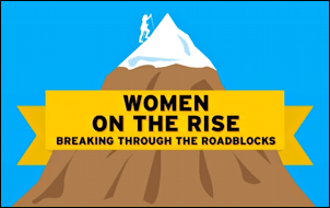 women on the rise - work life career