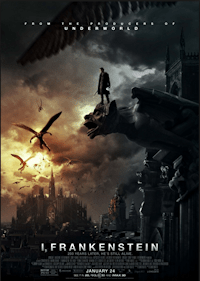 i, frankenstein movie one sheet poster