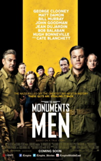 The Monuments Men one sheet movie poster