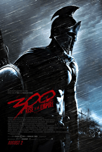 300: Rise of an Empire one sheet poster
