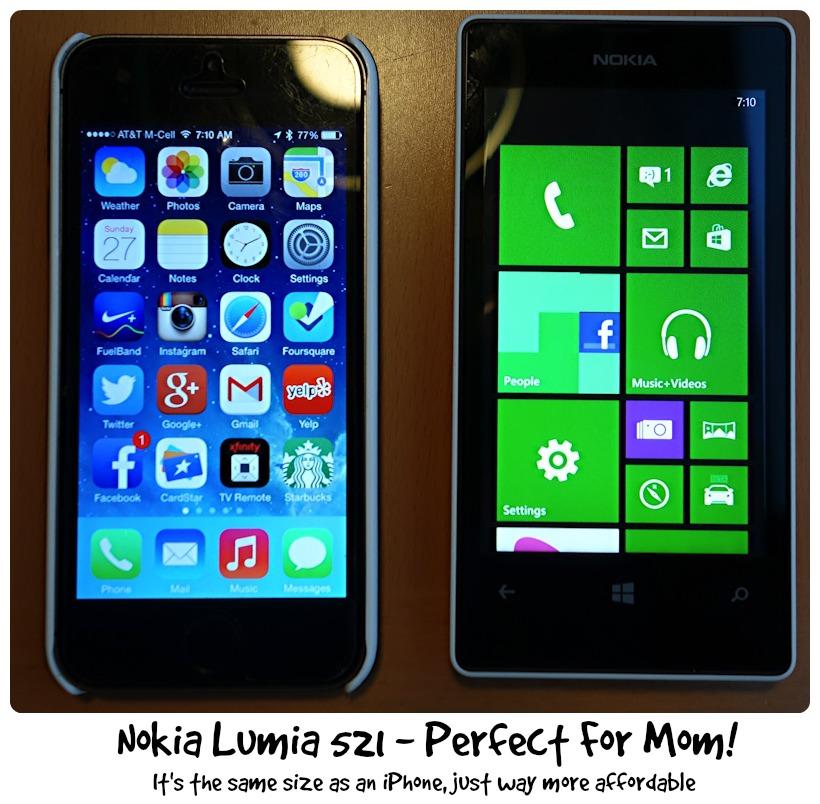 Apple iPhone vs Nokia Lumia 521