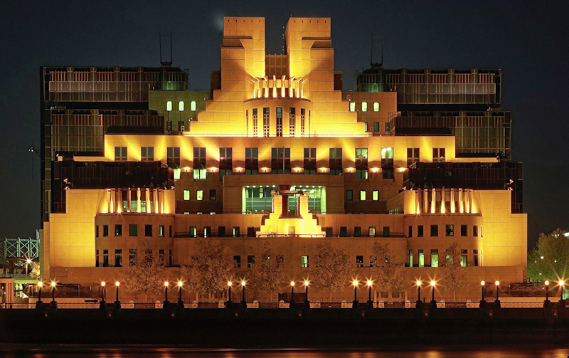 british secret service mi6 headquarters