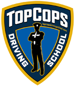 top cops driving school logo