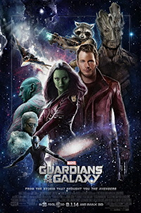 guardians of the galaxy one sheet poster