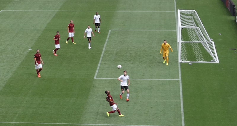 Another shot on goal for manchester