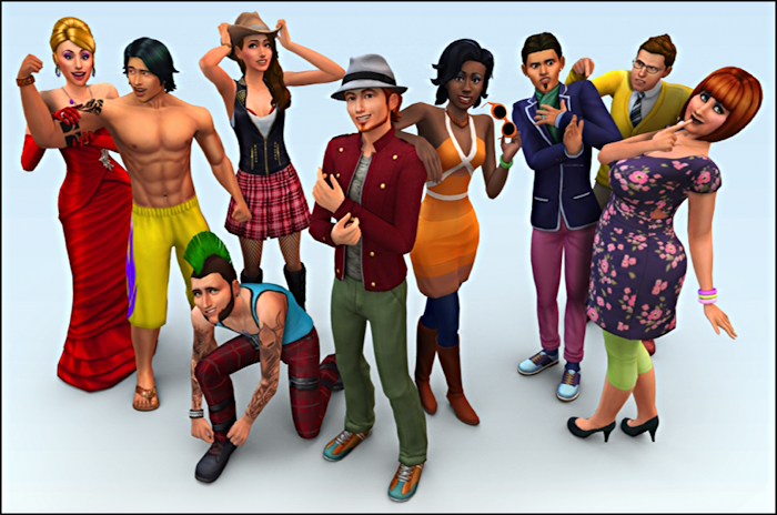 The Sims 4 - create your own sim