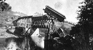 sometimes life's a train crash