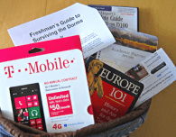 nokia lumia 521 with the walmart family plan - a perfect addition to a back-to-college gift bag