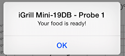 idevices igrill mini - food's done