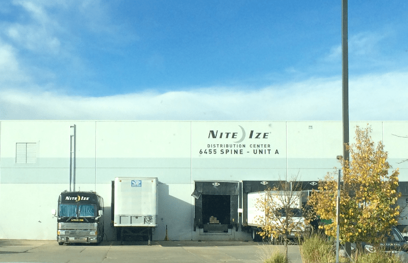 nite-ize warehouse and factory