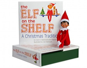 the weird, bizarre and creepy world of Elf on the Shelf