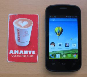 zte zinger versus a credit card