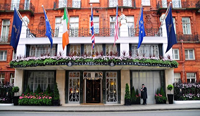 Claridge's Luxury Hotel Mayfair London England UK