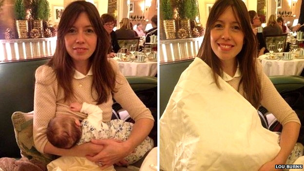 louise burns asked to cover up while breastfeeding at claridge's hotel